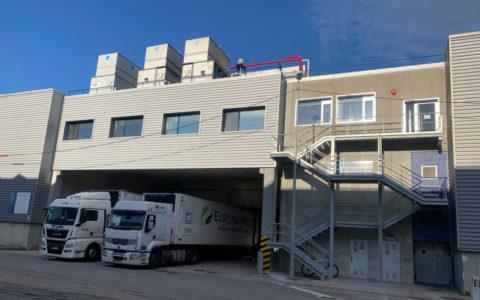 Edificio Industrial Europacífico en Vigo